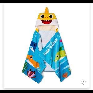 Baby Shark Fun Excursion Towel 100% Cotton New